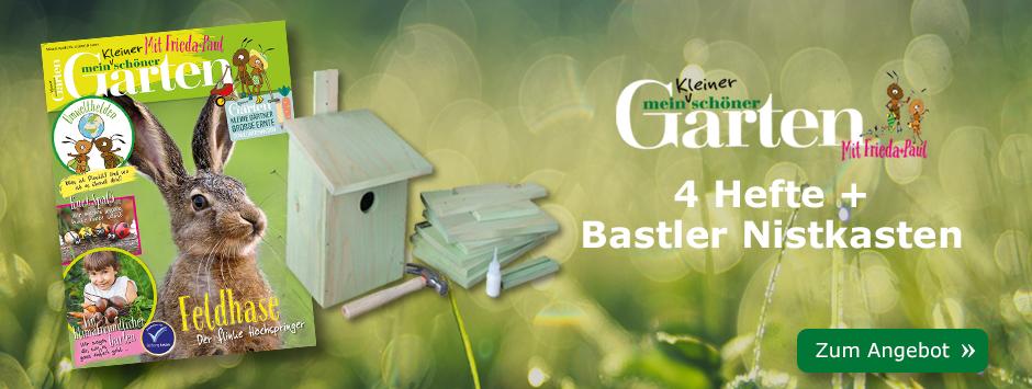 Mein kleiner schöner Garten lesen + Nistkasten sichern!