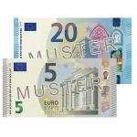 25 € Verrechnungsscheck
