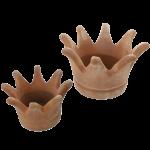 """Terracotta-Pflanzer """"Krone"""""""