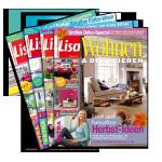 4 Ausgaben Lisa Wohnen & Dekorieren