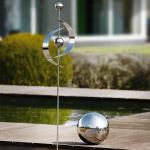 Deko-Set: Gartenstecker + Kugel