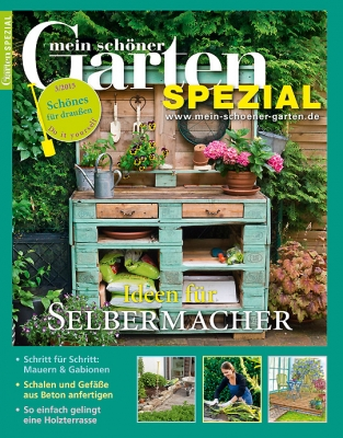 mein sch ner garten spezial aktuelle ausgabe 03 2015. Black Bedroom Furniture Sets. Home Design Ideas