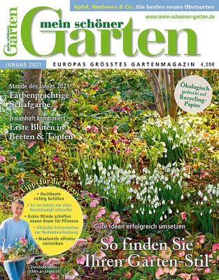 Mein schöner Garten 2021/02 Cover