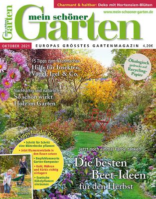 Mein schöner Garten 2021/11 Cover