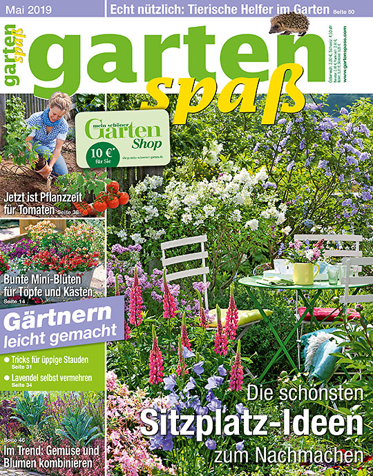 87366db5517000 Mein schöner Garten · Zum Angebot · Gartenspaß MINI-ABO