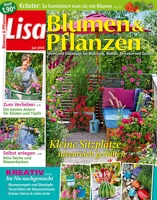 ✿ Mein schöner Garten | Alle Aboarten von Lisa Blumen & Pflanzen ...